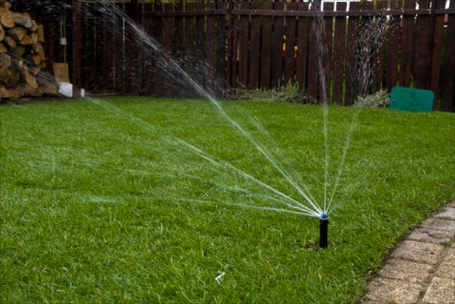 Grasshoppers Landscaping installs and maintains irrigation systems